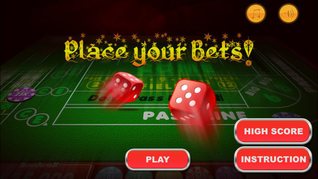 Overview of iPad Craps Online Casino Game