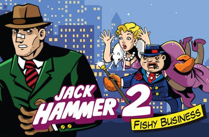Details of Jack Hammer 2 Online Slots Game Features