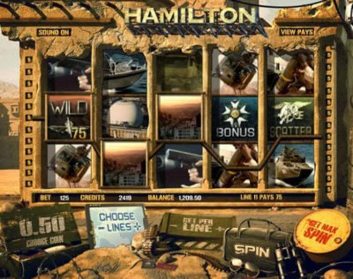 Hamilton Online Video Slot Game Review