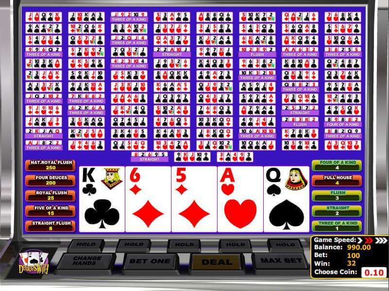 How To Play Multi Hand Video Poker